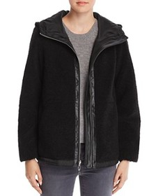 VINCE CAMUTO VINCE CAMUTO - Hooded Zip-Front Faux