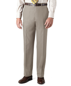 Country Club Saxxon™ Wool Madison Fit Plain-Front
