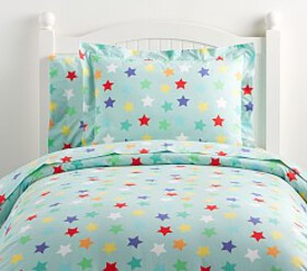 Organic Oversized Star Duvet Cover