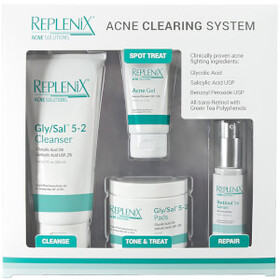 Replenix Acne Solutions Acne Clearing System - Lev