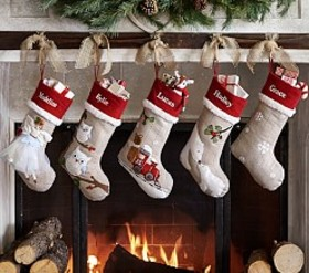Woodland Stocking Collection