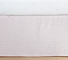 Montauk Stripe Crib Skirt
