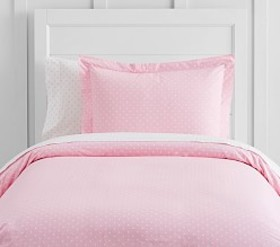 Organic Pin Dot Duvet Cover