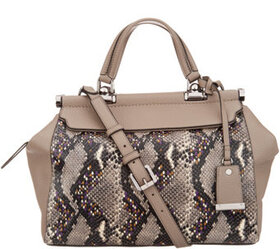Vince Camuto Exotic Leather Satchel - Carla - A342