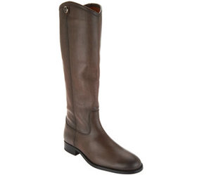 Frye Leather Tall Shaft Pull-on Boots - Melissa Bu