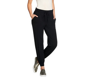 """""""As Is"""" AnyBody Loungewear Cozy Knit Jogger Pants"""