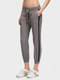CROPPED JOGGER WITH LOGO DRAWSTRING
