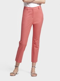 HIGH-RISE CROPPED SLIM ANKLE PANT