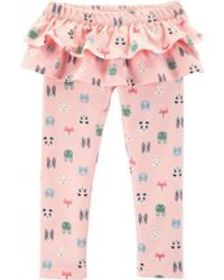 Baby GirlCharacter Ruffle French Terry Pants