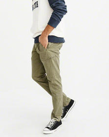 Athletic Skinny Pants, OLIVE GREEN
