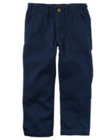 Kid Boy5-Pocket Uniform Twills