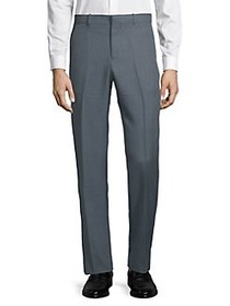 Perry Ellis Portfolio Textured Dress Pants DARK SL
