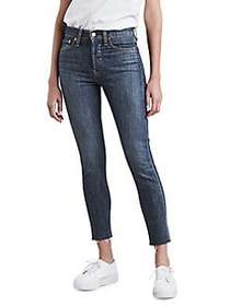 Levi's Wedgie Skinny Ankle-Jeans DARK BLUE