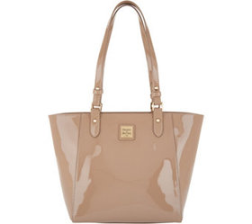 """""""As Is"""" Dooney & Bourke Patent Leather Tote Handba"""