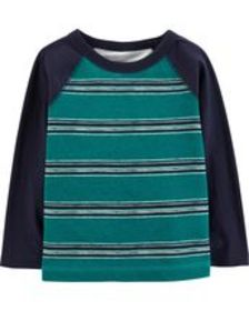Toddler BoyStriped Jersey Tee