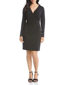 Karen Kane - Faux-Wrap Dress