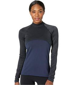 Nike Pro Warm Long Sleeve Champagne Top