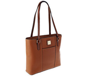 """""""As Is"""" Dooney & Bourke Pebble Leather Small Lexin"""