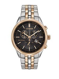 Citizen Eco-Drive Two-Tone Stainless Steel Chronog