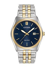 Citizen Eco-Drive Corso Two-Tone Stainless Steel W