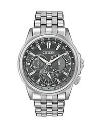 Citizen Calendrier Eco-Drive Stainless Steel Brace