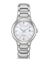 Citizen Chandler Eco-Drive Stainless Steel Watch S