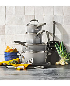 Rachael Ray 14-Pc. Nonstick Cookware Set, Created