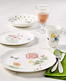Lenox Dinnerware, Butterfly Meadow Collection