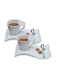 Villeroy & Boch - New Wave Espresso for Two Set