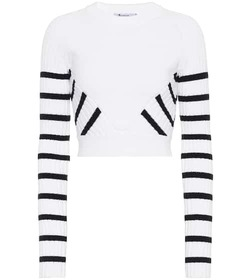 T by Alexander Wang Cropped sweater