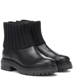 Max Mara Leather ankle boots