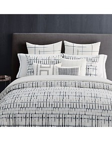 Vera Wang - Shibori Grid Bedding Collection
