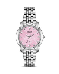 Citizen - Jolie Diamond Eco-Drive Pink Mother-of-P