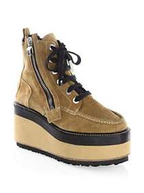 Pierre Hardy Up State Boots CAMEL SILVER