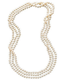 "100"" Cultured Freshwater Pearl Endless Strand Neck"