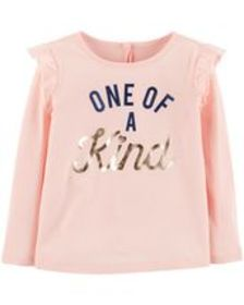 Osh Kosh Toddler GirlRuffle Tee