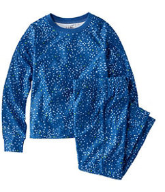 LL Bean Kids' Lights Out Sleepwear, Print