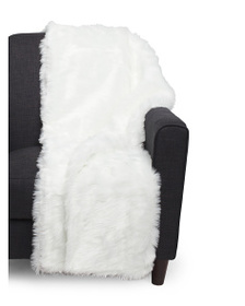 Afton Luxe Faux Fur Throw