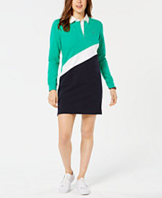 Tommy Hilfiger Striped Rugby Dress, Created for Ma