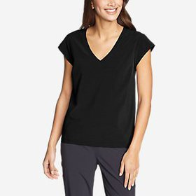 Women's Departure Short-Sleeve V-Neck T-Shirt