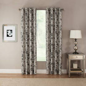 Pennington Ironwork Print Grommet Curtain Panel