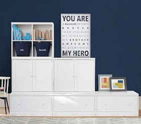 Pottery Barn Build Your Own Cameron Wall System