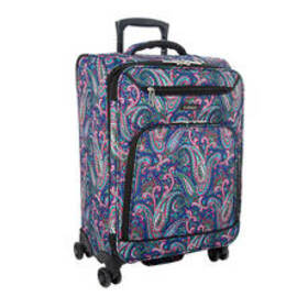 Leisure Escape Paisley Print 26in. Spinner