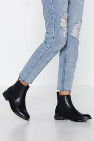 Nasty Gal Stood On the Edge Chelsea Boot