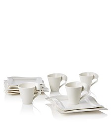 "Villeroy & Boch - ""New Wave"" 12 Piece Set"
