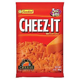 Cheez It Baked Snack Crackers Cheddar