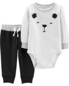 Osh Kosh Baby Boy2-Piece Bear Bodysuit Pant Set