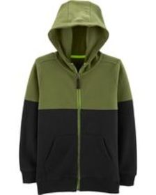 Osh Kosh Kid BoyColorblock Zip-Up Hoodie