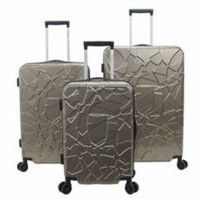 Chariot® Travelware Crystal 3pc. Luggage Set