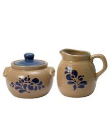 Pfaltzgraff Sugar and Creamer Set